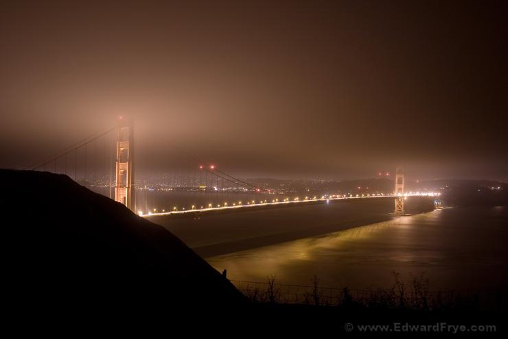 Golden Gate Bridge from Headlands