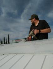 Edward refueling the Cessna